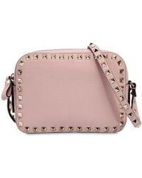 Valentino - Rockstud Leather Camera Bag - Lyst