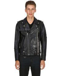 DIESEL L-kio Biker Jacket