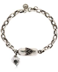 Jade Jagger - Sterling Silver Charm Bracelet - Lyst
