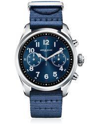 Montblanc - Summit 2 Steel & Nylon Smart Watch - Lyst