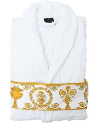 Versace - Barocco & Robe Bathrobe - Lyst