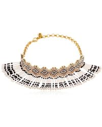 Shourouk - Mambo Beaded Choker - Lyst