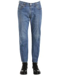 Vetements | Reworked Classic Denim Cropped Jeans | Lyst