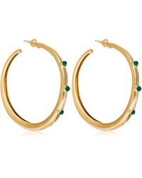 Elizabeth and James - Georgia Hoop Earrings - Lyst