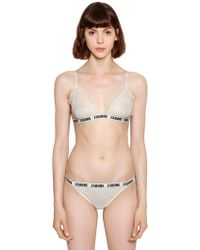 Love Stories - J'adore Lace Triangle Bra - Lyst