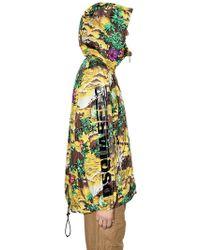 DSquared² - K-way Hawaii Print Hooded Nylon Jacket - Lyst