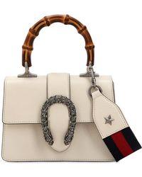 Gucci - Mini Dionysus Bamboo & Leather Bag - Lyst