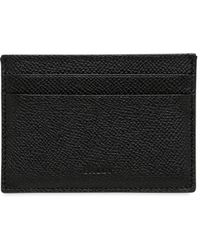 Bally - Pebbled Leather Credit Card Holder - Lyst