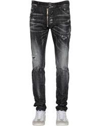 "DSquared² - Jeans ""cool Guy"" De Denim Con Cremallera - Lyst"