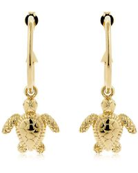 Schield - Charms Turtle Earrings - Lyst