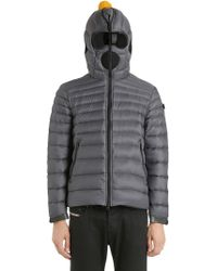 Ai Riders On The Storm - Nylon Micro Ripstop Down Jacket - Lyst