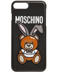 Moschino - Teddy Playboy Iphone 7 Plus Cover - Lyst