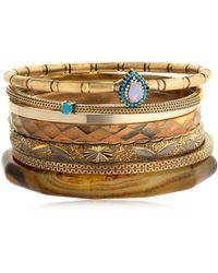 Iosselliani | Set Of 7 Bangle Bracelets | Lyst