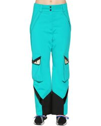 Fendi - Monster Stretch Tech Stirrup Ski Trousers - Lyst