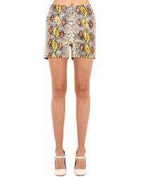 Rochas - Shorts De Piel - Lyst