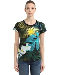 G-Star RAW - Aloha Printed Cotton T-shirt - Lyst