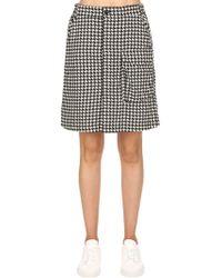 G-Star RAW - Tendric High Waist Flannel A-line Skirt - Lyst