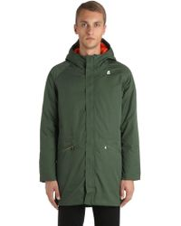 "K-Way - ""Parka """"jeremy"""" Reversibile"" - Lyst"