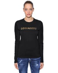 DSquared² - Top In Black - Lyst