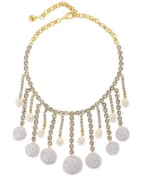 Shourouk - Sequins Necklace - Lyst