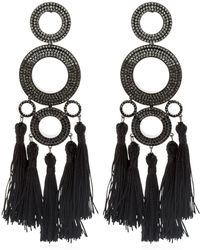 Joanna Laura Constantine - Grommets Ombre Statement Earrings - Lyst
