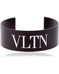 "Valentino - Bracciale ""vltn"" - Lyst"
