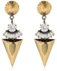 Iosselliani - Spike Pendant Earrings - Lyst