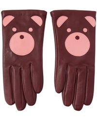 Aristide | Teddy Nappa Leather Gloves | Lyst