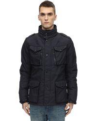 Schott Nyc Куртка Из Нейлона - Синий