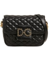 Dolce & Gabbana - Small Millennial Quilted Leather Bag - Lyst