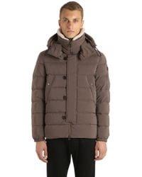 Peuterey - Gripen Down Jacket W/ Faux Shearling - Lyst