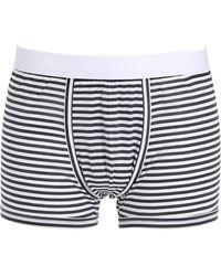 Dolce & Gabbana - Striped Cotton Boxer Briefs - Lyst