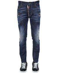 DSquared² - Jeans Skater In Denim 16cm - Lyst