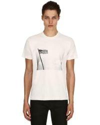 CALVIN KLEIN 205W39NYC - Andy Warhol American Flag Print T-shirt - Lyst