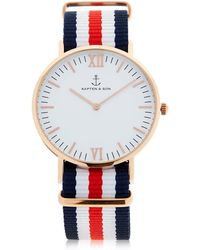 KAPTEN & SON - 40mm Racer Watch - Lyst