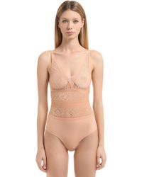 "Stella McCartney - Body ""ophelia"" De Encaje - Lyst"