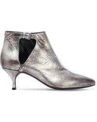 Strategia - 50mm Metallic Leather Ankle Boots - Lyst