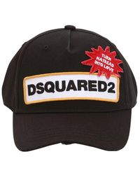 DSquared² - Patch Baseball Cap - Lyst