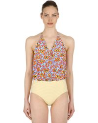 Albertine - Camarat Floral One Piece Swimsuit - Lyst