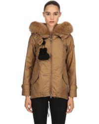 Peuterey - Tse Parka Down Jacket W/ Fur - Lyst