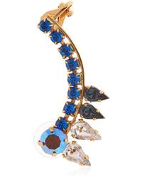 Halo - Colored Earcuff W/ Swarovski Crystals - Lyst