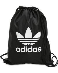 adidas Originals - Trefoil Drawstring Backpack - Lyst