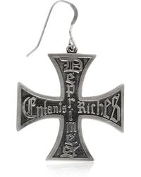 Enfants Riches Deprimes | Silver Cross Single Earring | Lyst