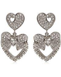 Dolce & Gabbana - Heart & Bow Clip-on Earrings - Lyst