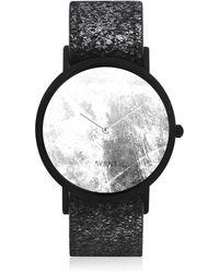 South Lane - Avant Diffuse Invert Watch Black & Foil - Lyst