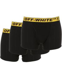Off-White c/o Virgil Abloh Set Di 3 Boxer In Misto Cotone