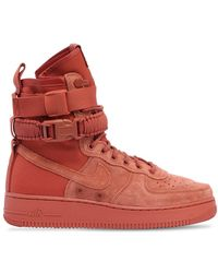 Nike - Air Force 1 Special Field Suede Sneakers - Lyst