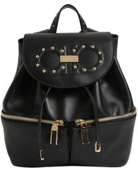 Ferragamo - Jam Groove Leather Backpack - Lyst