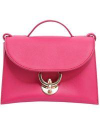 Ferragamo | Mini Stella Leather Bag | Lyst