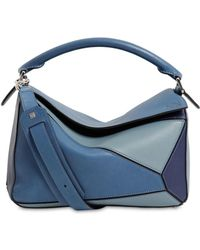 Loewe - Small Puzzle Multi Leather Bag - Lyst
